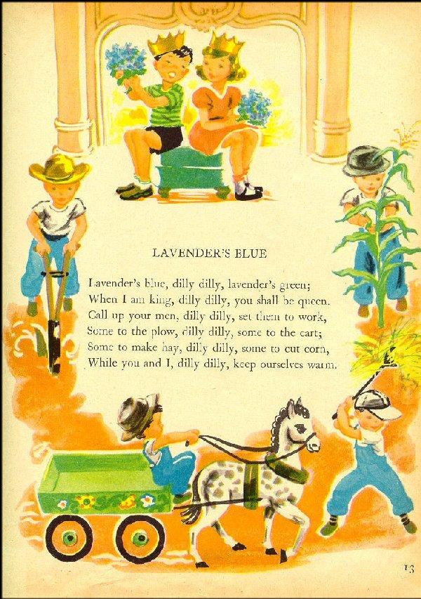 Resultado de imagen de lavender's blue